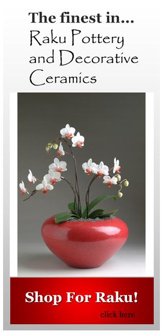 buy raku cachepots from dodero studio ceramics